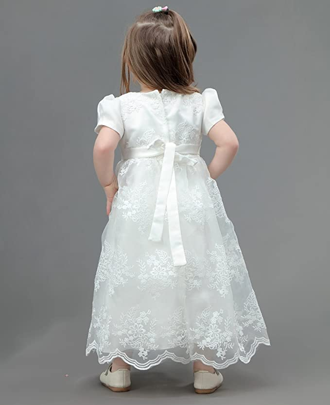 AHAHA Baptism Gowns for Baby Girls Princess Wedding Dress Baby ...