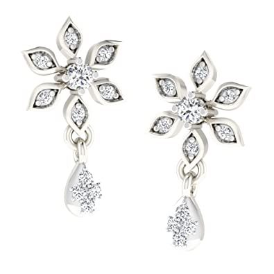 9a6cda236 His & Her Diamonds .925 Sterling Silver and Diamond Stud Earrings (White)  for