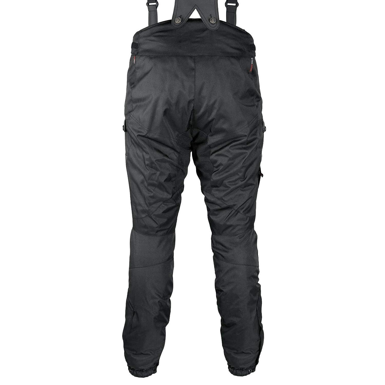 Pantaloni 3 Strati Moto Tessuto Cordura Impermeabile Sfoderabile Termico Uomo 40