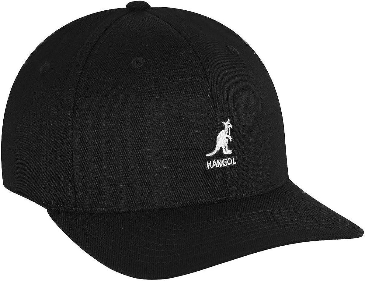 Large-X-Large Kangol Tech Flexfit Cap Black