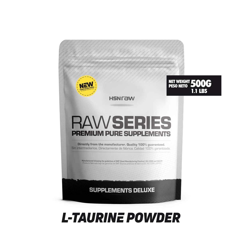 Taurina en Polvo de HSN Raw | Mejora la Hidratación y Reduce ...