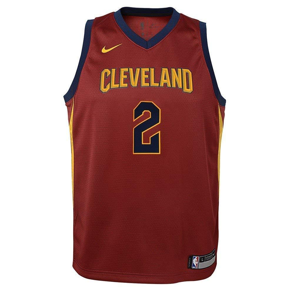 824e374cbf1 Amazon.com : Nike Kyrie Irving Cleveland Cavaliers NBA Burgundy Maroon Road  Swingman Jersey (Youth Large 14-16) : Sports & Outdoors