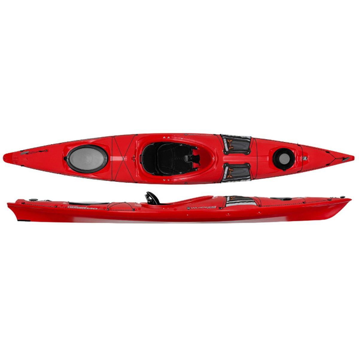 Wilderness Systems 9720408040 Tsunami 140 Kayaks, Red, 14'