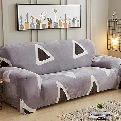 L&VE Stretch Fundas de sofá, Super Suave Telar A Prueba de Suciedad Decoración Funda Cubre