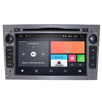 Radio para coche Android 9.0 con reproductor de DVD con Bluetooth ...