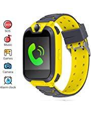 Kids Smartwatch Phone,Children's Smart Watch with Dial Call Camera Music Play Calculators Alarm Android iOS Electronic Smartwatch for Back to School Children Boys Girls Christmas Birthday Gifts
