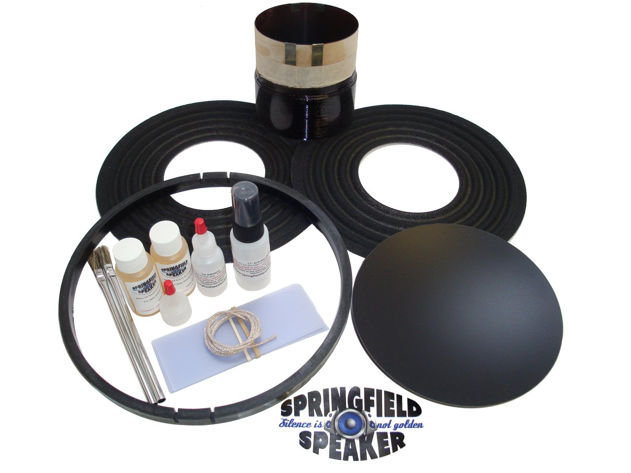 Rockford Fosgate T2 Subwoofer Coil Replacement Kit for 12'' and 15'' - 2 Ohm