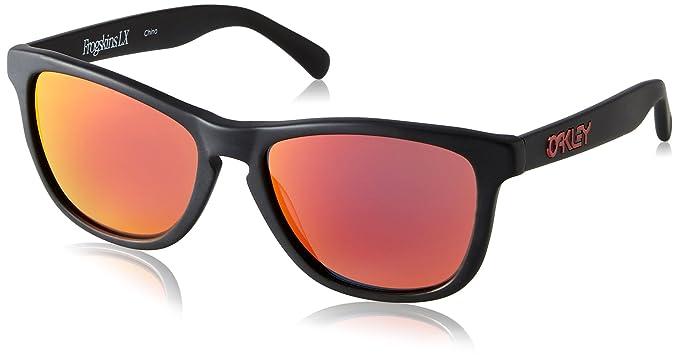 f602fba131b41 Oakley Sunglasses Frogskins LX (OO2043-02)  Amazon.in  Clothing ...