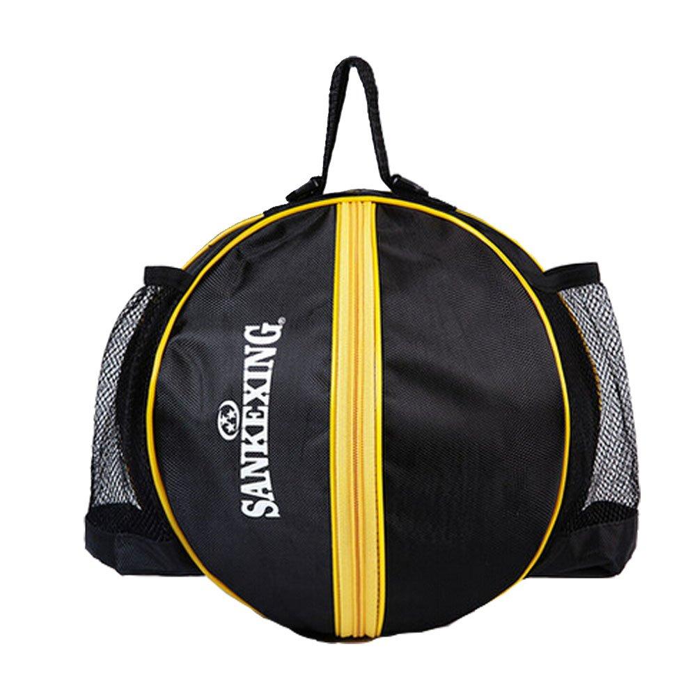 Sport Bag Basketball Soccer Volleyball Bowling Bag Carrier, black A Kylin Express