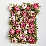 The silk peony flower wall decoration studio wedding window background simulation flower wall decorations,A