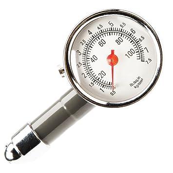 Medidor de Presión Neumáticos - Manómetro Presión Ruedas, Medición Rápida y Precisa, para Medidores