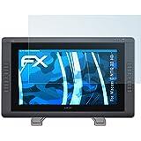 atFoliX Film Protection d'écran pour Wacom CINTIQ 22 HD Protecteur d'écran - 2 x FX-Clear ultra claire Film Protecteur