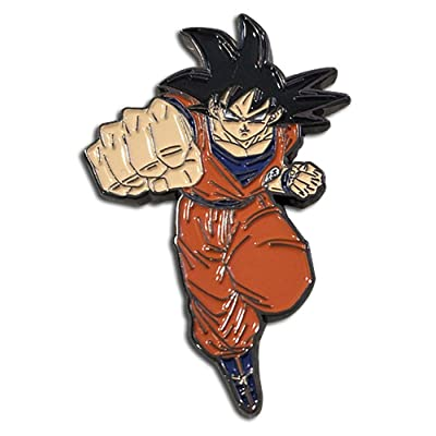 Great Eastern - Dragon Ball Super - Goku Pin, 2-inches: Toys & Games