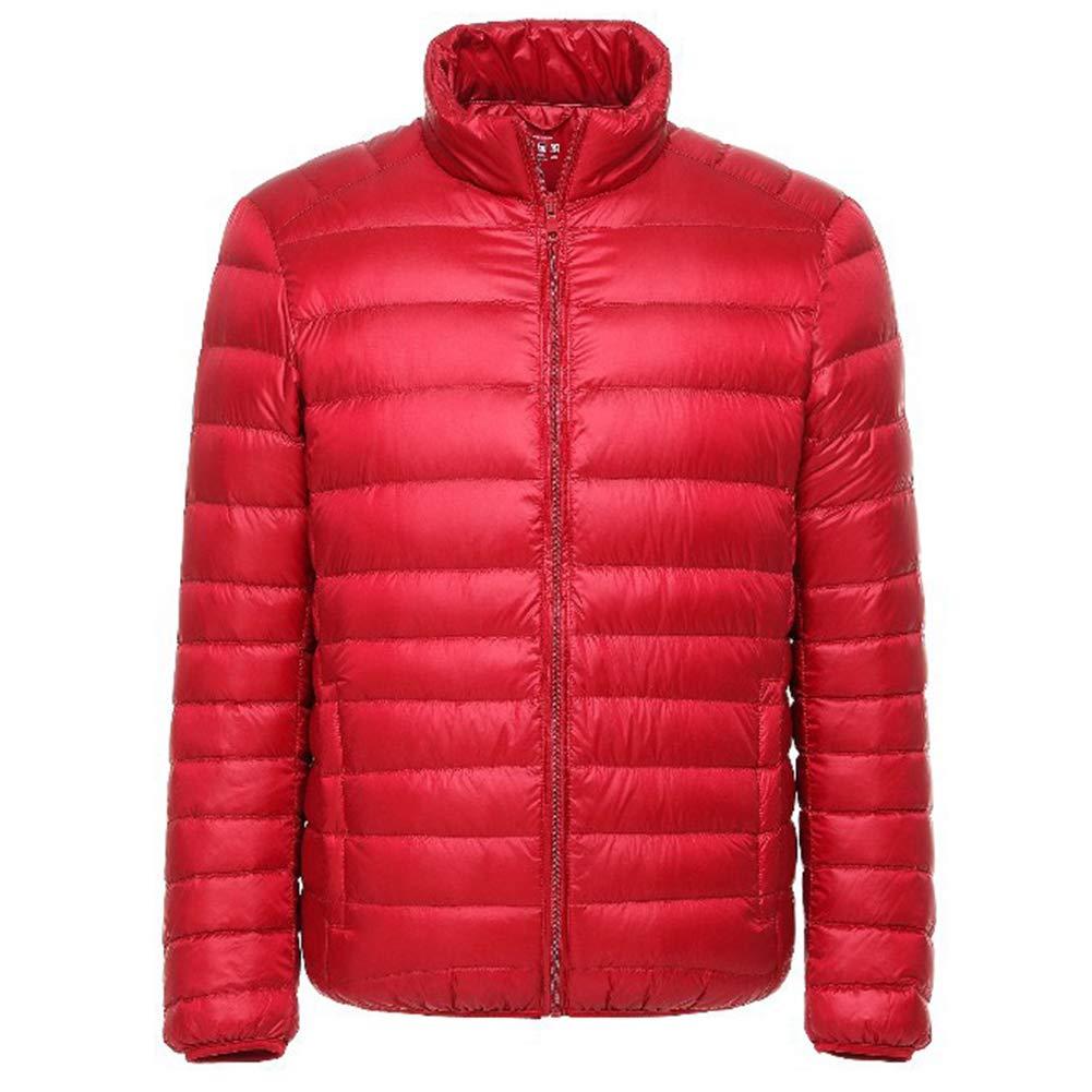 Ultralight /& Warm Mens Down Jacket Windproof Winter Coat Travel Hiking Climbing Skiing