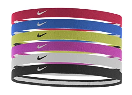 Amazon.com   Nike Swoosh Sport Headbands 6pk (Anthracite Crimson  Pulse Obsidian)   Sports   Outdoors 072a4d79813