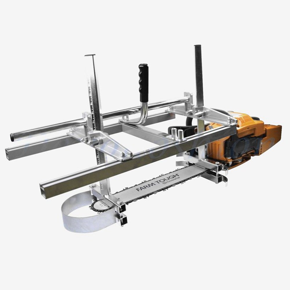 Carmyra Portable Chainsaw mill 36'' Inch Planking Milling Bar Size 14'' to 36''