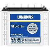 Luminous LPTT12200L 200Ah Solar Tall Tubular Battery (36Months)