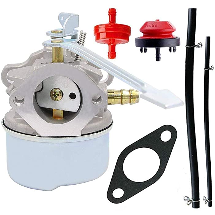632552 Carburetor For Tecumseh 640086A 640092A 640311 - TecumsehHSK600 Carburetor - 632560A 632560 632641 640086 640098A HSK600 HSK635 TH098SA 3HP 2 Cycle Engine (632552)