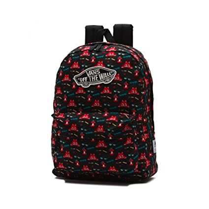 Vans Backpack - Dabs Myla black/red: Amazon.co.uk: Luggage