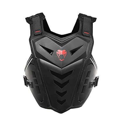 832252f1dd3 Amazon.com: HEROBIKER Motorcycle Armor Vest Motorcycle Riding Chest ...