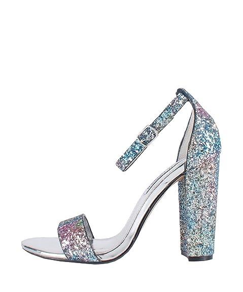 a8f16bdb74 Steve Madden Carrson Glitter Multi - Sandali Glitter Multicolore ...