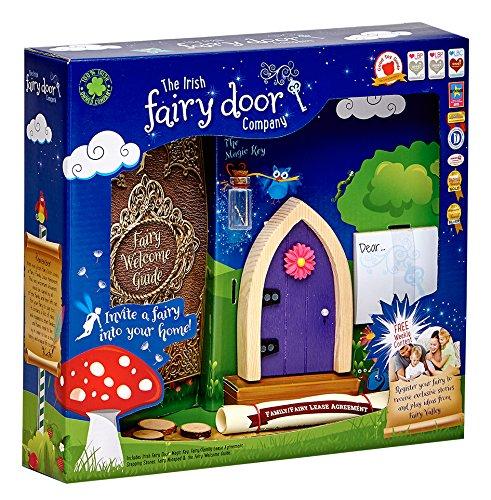- The Irish Fairy Door Company FD554219 Magical, Purple