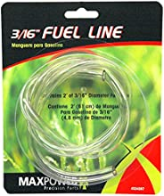 Maxpower 334287 3/16 Inch Clear Fuel Line, 2 Foot Length