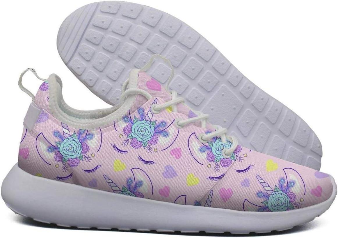 LOKIJM - Zapatillas de Running para Mujer, diseño de Unicornio ...