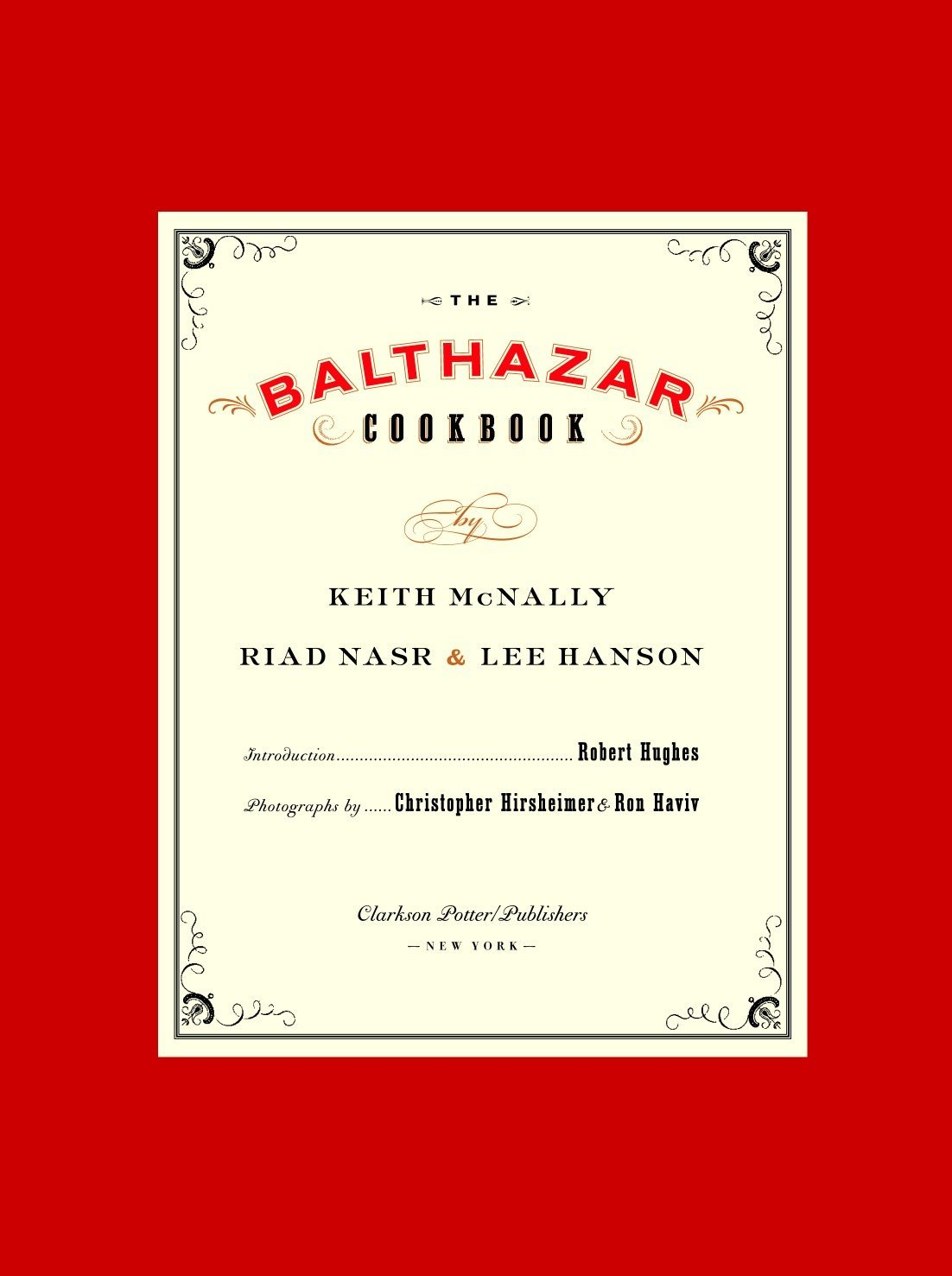 The Balthazar Cookbook pdf epub