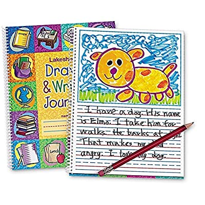 Lakeshore Draw & Write Journal: Toys & Games