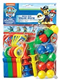 Amscan Amazing Paw Patrol Birthday Mega Mix Value 48 Pack Multi Color 11 1/2'' x 9'' Party Favours , 288 Pieces