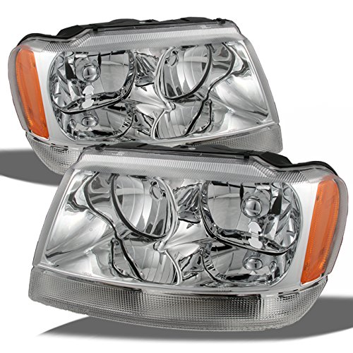 04 jeep cherokee headlights - 6