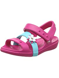Crocs Kids  Girls Keeley Charm Sandal 5638ef003a6a