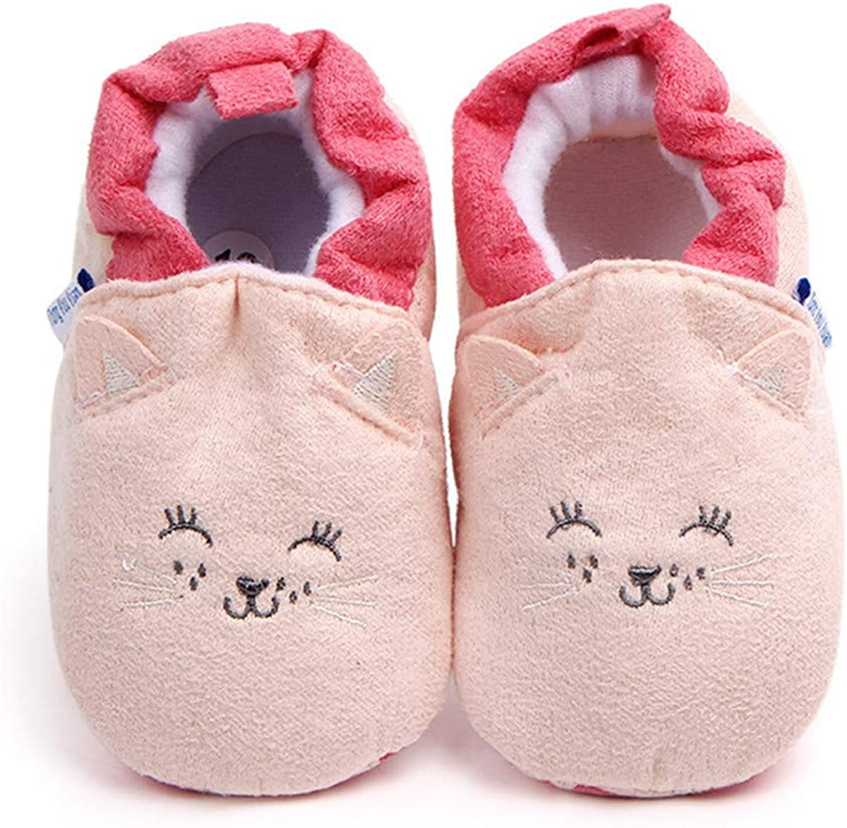 Baby Boys Girls Shoes Non Slip Stay On House Slipper Newborn Socks Infant Toddler First Walker Crib Shoes