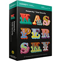 Kaspersky Total Security 2018 Standard | 5 Geräte | 1 Jahr | 20th Anniversary Edition | Windows/Mac/Android | Download
