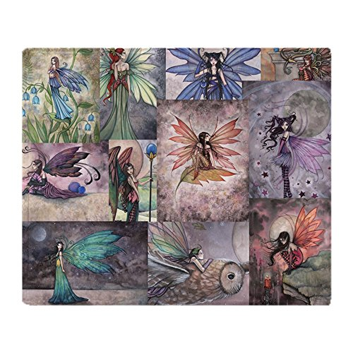 CafePress - Fairy All Over T Shirt - Soft Fleece Throw Blanket, 50