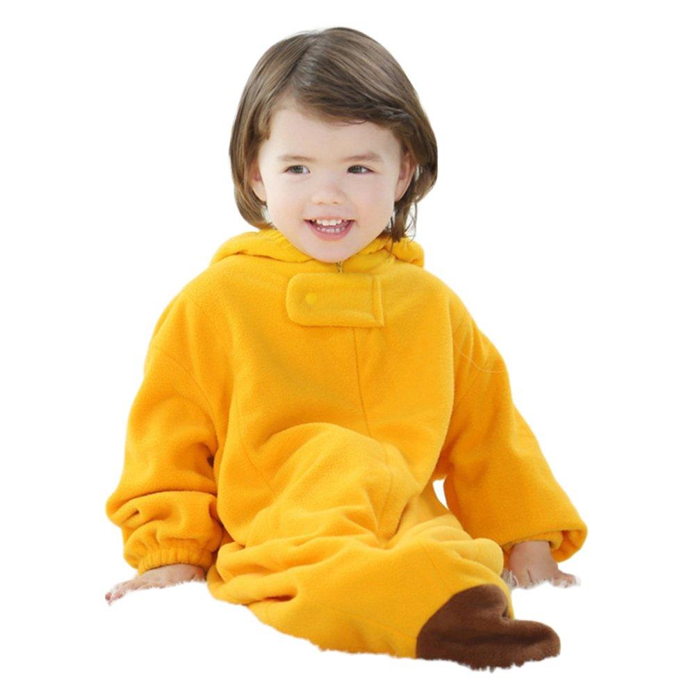 31115cbb5 Amazon.com  Sealive Baby Sleeping Bag Sack Romper Fleece Banana ...