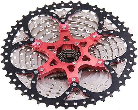 CAISYE Cassette De 10 Velocidades 11-46T para Bicicleta De Montaña ...