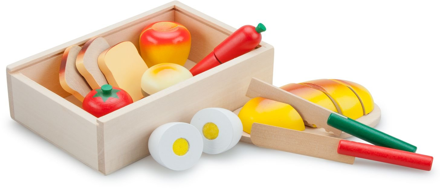 New Classic Toys Essen schneiden Set