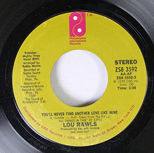 Lou Rawls - Lou Rawls 45 Rpm You