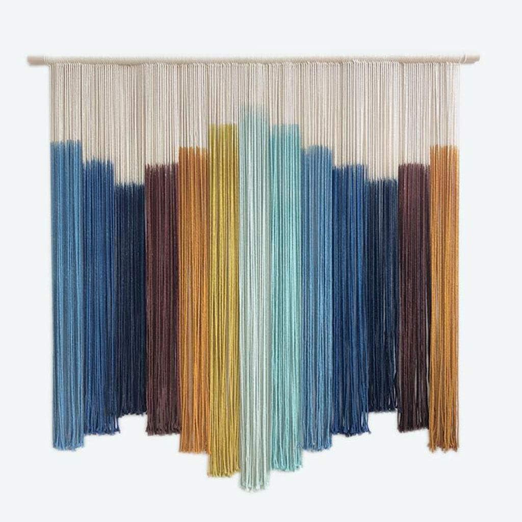 Wall Art Tapestry Small Boho Rainbow Woven Wall Hanging