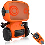 OKK Smart Robot Toy for Kids, Interactive Remote Control Pet with Walkie Talkie and Wireless RC Programming Mode for…