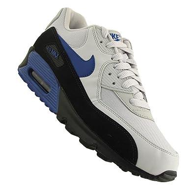 Nike Air Max 90 Essential schwarz weiß blau (537384 040