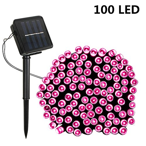 Pink Led Christmas Lights Outdoor - 8