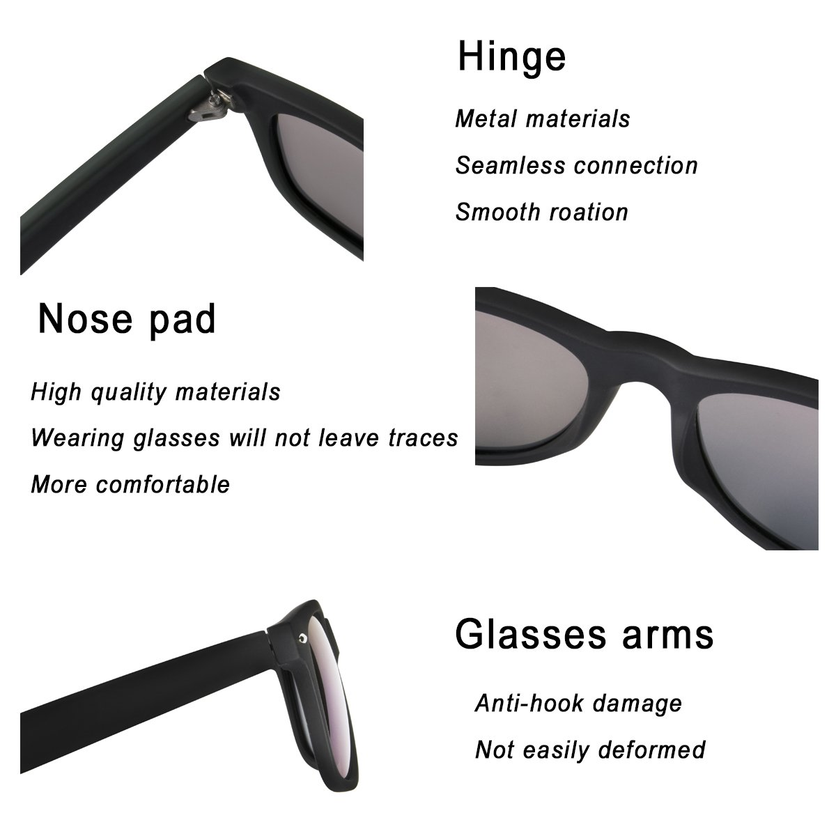 a5a3769924f Polarized Sunglasses for Men Retro - FEIDU HD Vision Polarized Sunglasses  Mens FD2149 2.08 ) 2149BLACK-MATTE