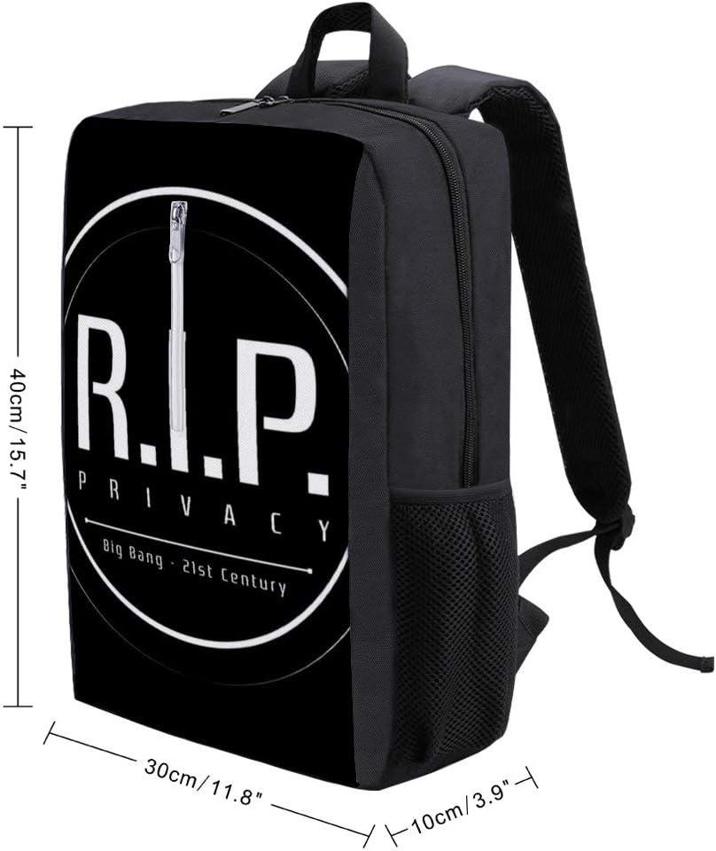 RIP Privacy Backpack Daypack Rucksack Laptop Shoulder Bag with USB Charging Port