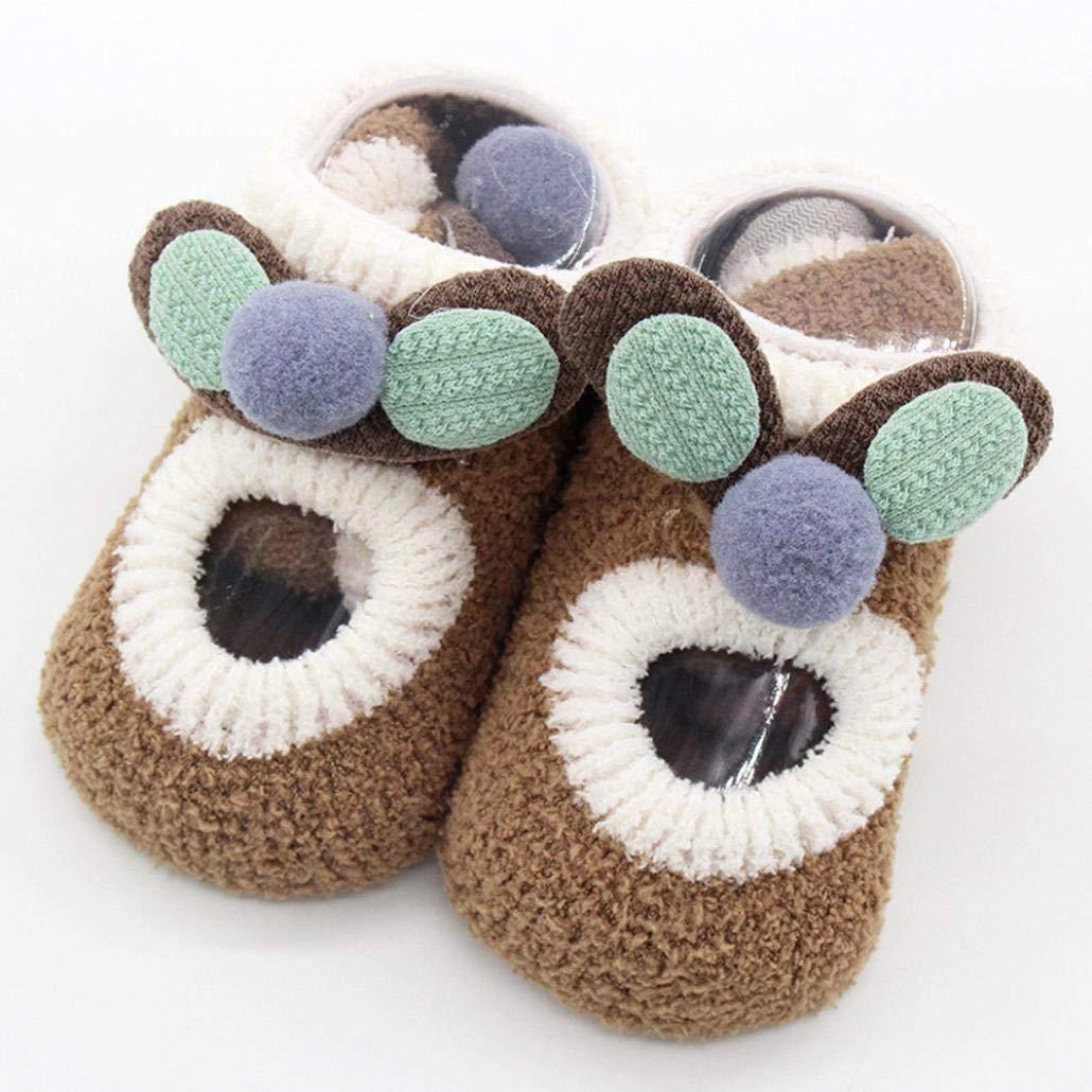 Lucoo baby socks Anti-slip Newborn Baby Floor Cotton Step Socks Toddler Infants Boy//Girls 0-4 years