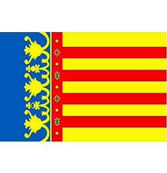 Durabol Bandera de Comunidad Valencia - Valenciana 150*90 cm Satén .