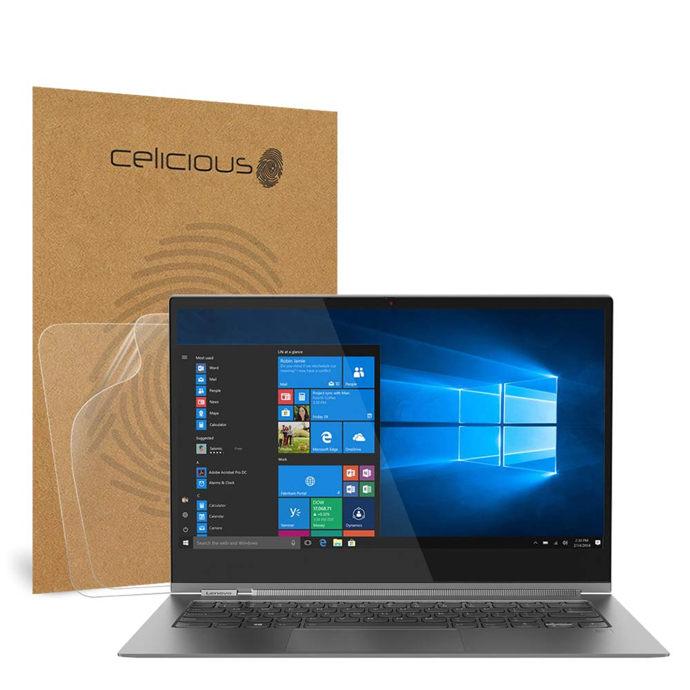 Celicious Matte Anti-Glare Screen Protector Film Compatible with Lenovo Yoga C930 13.9 [Pack of 2]