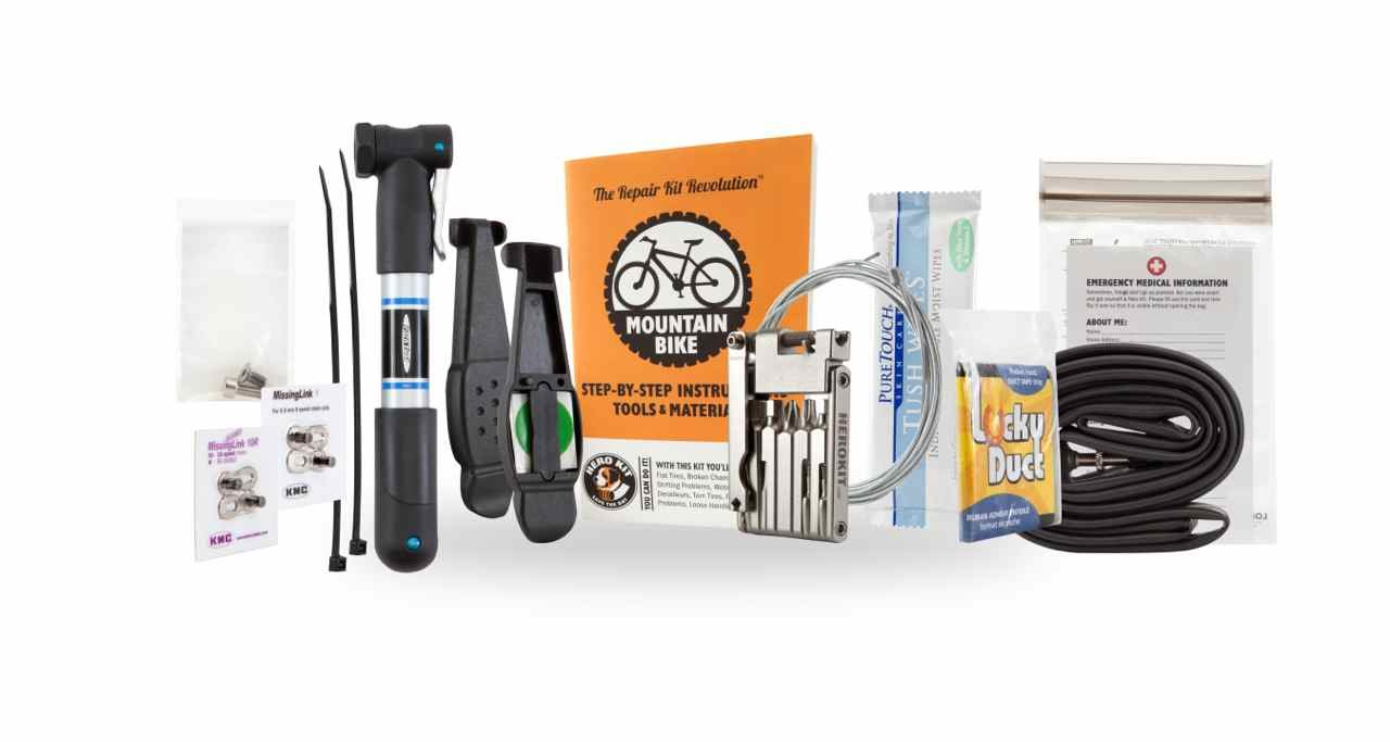Comprehensive Bike Repair Kit - for Town and Trail by Hero Kit